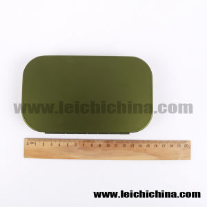 Wholesale Fly Fishing Box Aluminum Fly Box 10 Compartments pictures & photos