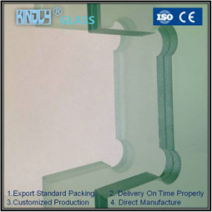 Frosted Laminated Safety Glass Door