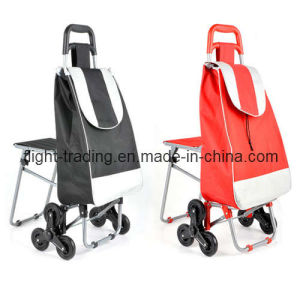 Climbing Luggage Trolley with Seat pictures & photos