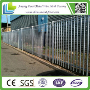 2.4m High Galvanized Palisade Fence for Residential pictures & photos