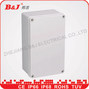 IP65 Plastic Waterproof Electrical Junction Box/Plastic Electrical Boxes/Electrical Plastic Box pictures & photos