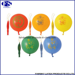 100% Natural Latex Punch Balloons Free Sample pictures & photos