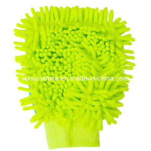 Microfiber Chenille Glove for Car Cleaning (TG-001) pictures & photos