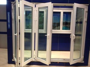 Anti UV High Quality UPVC PVC Folding Door