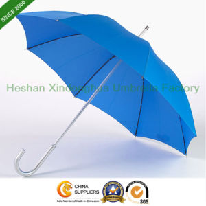 Aluminium Automatic Corporate Executive Umbrella with Hook Handle (GOL-0027AF) pictures & photos