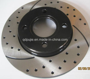 High Quality Crossed and Drilled Car Brake Discs pictures & photos