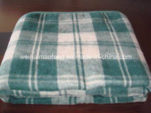 Woven Fire Resistance/Flame Resistance Polyester Blanket pictures & photos