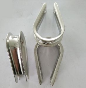 Stainless Steel Parts for Tube Thimble, Polished Finish pictures & photos
