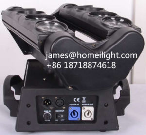 Professional DJ Disco Club Party Effect DMX Control 8X12W RGBW 4in1 Moving Head LED Spider Light pictures & photos