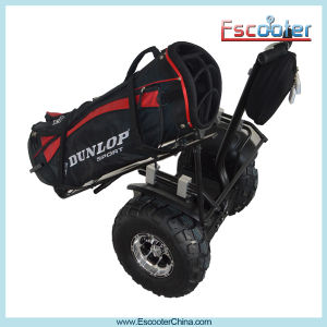 Easy-to-Use Self Balancing Golf Transporter Electric Chariot with Good Mobility pictures & photos