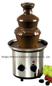 Three Tiers Stainless Steel Chocolate Fondue Fountain Machine