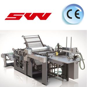 Automatic Paper Folding Machine (With electric control knife) pictures & photos
