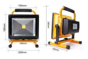 New 12V 10W LED Work Outdoor Lighting Camping Solar Rechargeable Floodlight Luminaries pictures & photos