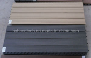 WPC Interlocking Decking Tiles, 300x300mm 300x600mm Composite DIY Decking Tile pictures & photos