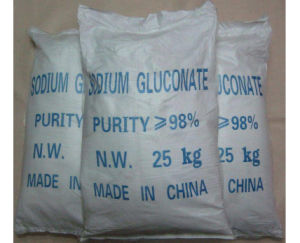 Sodium Gluconate, Sodium Gluconate Power, Sodium Gluconate 99% Food Grade pictures & photos