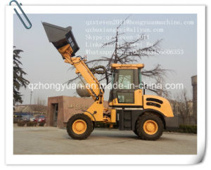 Rated Loading Weight 1.5ton Telescopic Wheel Loader Zl15 with CE pictures & photos