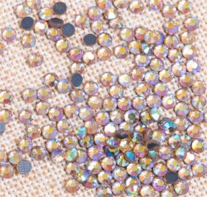 Genuine Elements Ab Clear (001AB) Hot Fix DMC Rhinestone Rgd-010