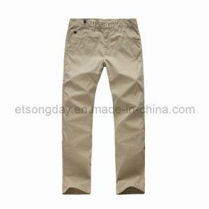 Khkai Cotton Spandex Men′s Trousers Pants (COCH-1405) pictures & photos