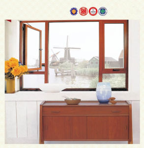 Luxury Aluminum Casement Window (pH-0001) pictures & photos