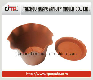 High Quality of Square Plastic Flower Pot Mould pictures & photos