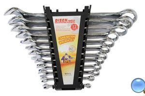 Plastic Case Packing 12PCS Combination Wrench Set