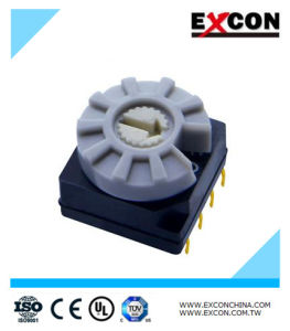 Rotary Selector Switch Mini DIP Switch Excon RS41312 pictures & photos