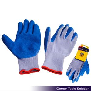 21 Gauge Latex Coated Crinkle Finished Working Glove