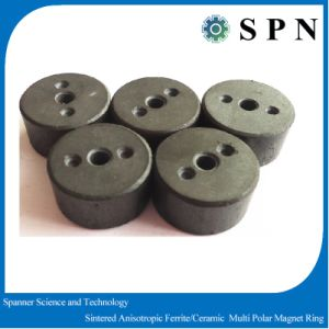 Ferrite Magnet Sintered Permanent Magnet Rings pictures & photos