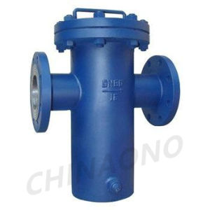 T Type Caged Strainer Basket Type Water Filter pictures & photos