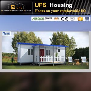 Double Floor/Level Economic Prefab House with Windows and Doors pictures & photos