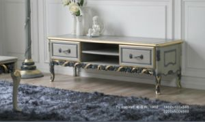 French Home Furniture Wooden Living Room Cabint, High End Hotel Cabinet (BA-1902) pictures & photos