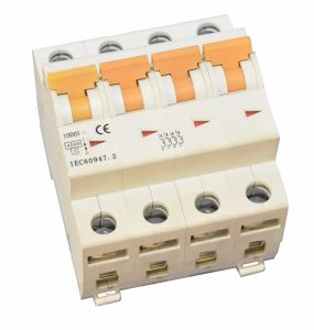 True DC Circuit Breaker MCB From 3A to 63A for 1000V System pictures & photos