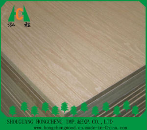 Wooden Veneer Faced MDF Board by Ash/Teak/Sapeli/Oak pictures & photos