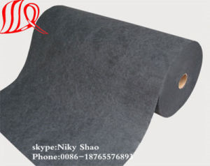 100% Polyester Nonwoven Mat for Wet Wipes pictures & photos