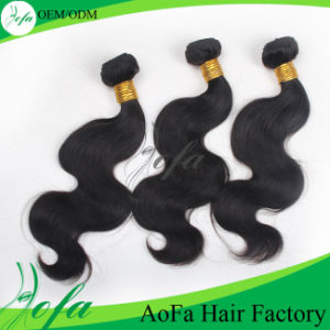 Unprocessed Double Weft Loose Wave Human Virgin Hair Extension pictures & photos