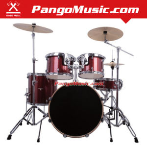 5-PC Red Color Drum Set (Pango PMDM-1500) pictures & photos