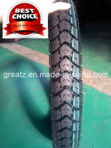 2015 New Pattern Motorcycle Tubeless Tyre 90/90-17 pictures & photos