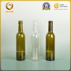 375ml Bordeaux Glass Wine Bottle with Screw Cap (004) pictures & photos