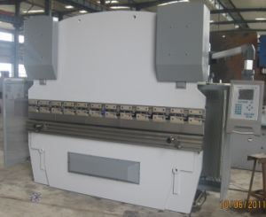 CNC Press Brake Wc67k 125t3200 with Da52 pictures & photos
