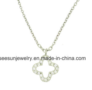 Simple Sterling Silver Jewelry Necklace for Girl pictures & photos