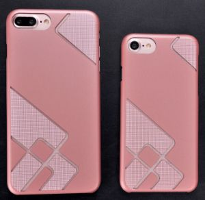 Simple Style Rubberized PC Mobile Case for iPhone Case pictures & photos
