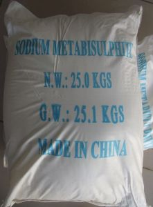 CAS No. 7681-57-4 97% Food Grade Preservative Sodium Metabisulfite pictures & photos