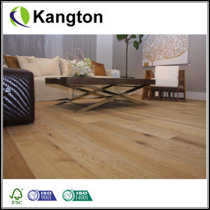 High Quality Burma Teak Smooth Solid Wood Flooring (solid flooring) pictures & photos