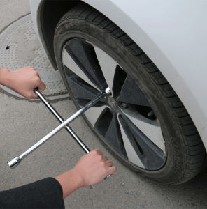 "Black 14"" Metric 4-Way Lug Wrench pictures & photos"