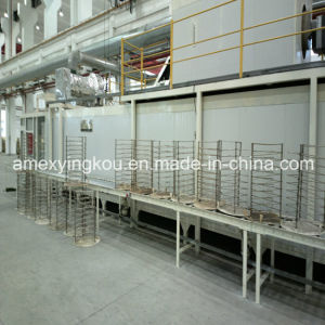 Washing Line of The Steel Drum Making Production Line Barrel Machine pictures & photos