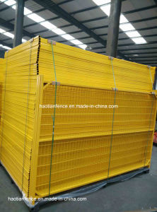 6ftx10FT Movable PVC Coated Canada Temporary Fence pictures & photos