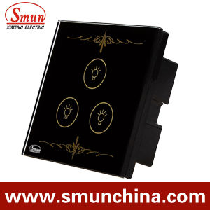 3 Key Black Lamp Touch Switch for Wall, Home Smart Remote Control Switches pictures & photos