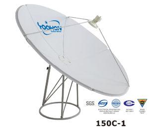 150cm Prime Focus Satellite Dish Antenna ISO pictures & photos