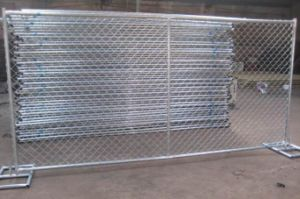 Chain Link Temporary Fence Panels for Construction Security pictures & photos