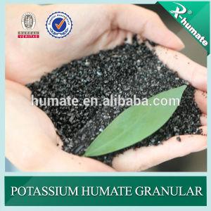 Potassium Humate Shiny Granule pictures & photos